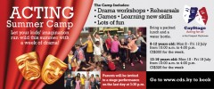 Summer Camp 2019 for 8-12 year olds