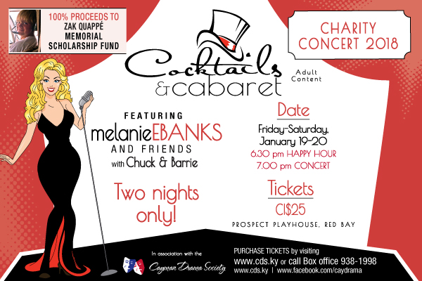Cocktails and Cabaret--They're BAACK