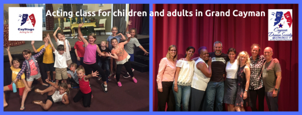 Acting Classes Junior Group (age 8-11) Thu 4.30-6