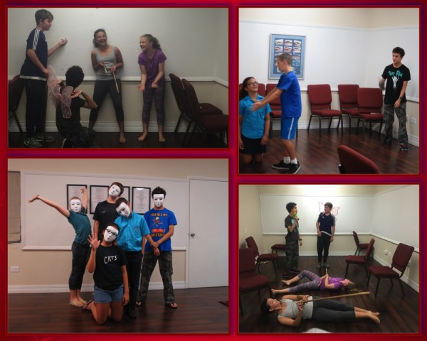 Acting for ages 13-16 Wed 5-6.30pm (Term 2 2019/20)